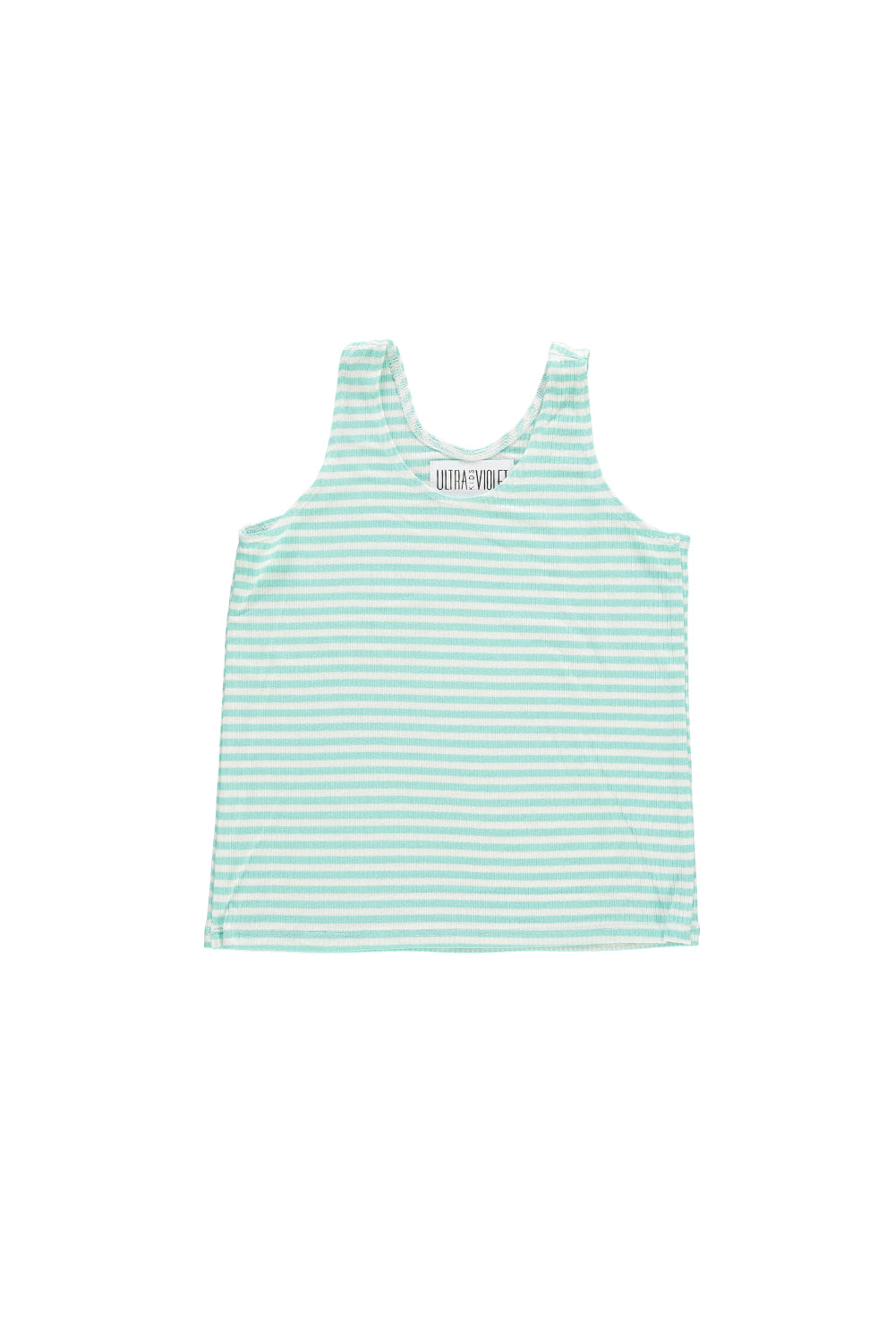 Tank Top - Mint Stripe