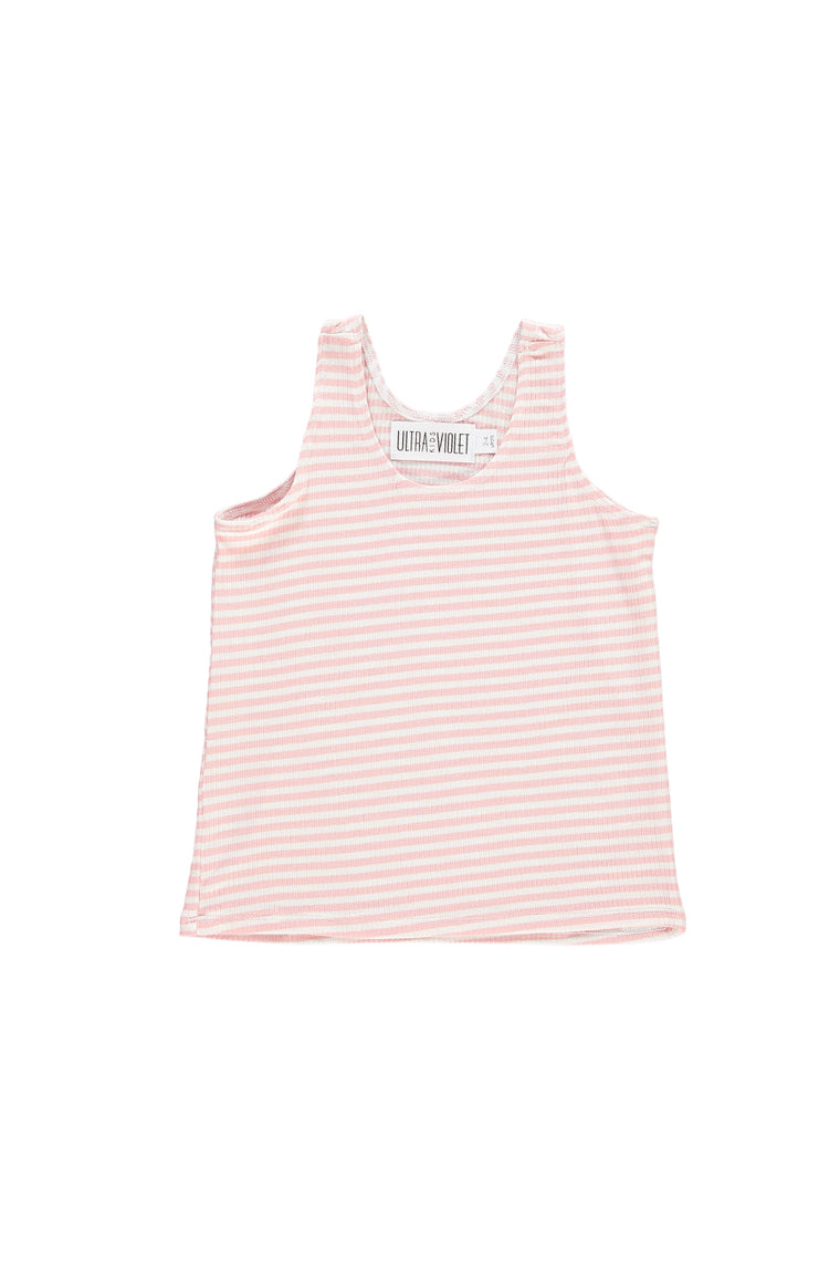 Tank Top - Pink Stripe