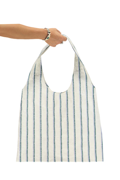 XL Tote Bag - Golf Stripe