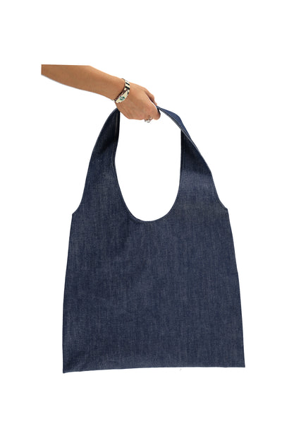 XL Tote Bag - Raw Denim