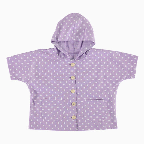Baja Jacket - Lilac Dot