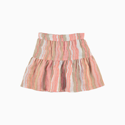 Mini Peasant Skirt - Sundae