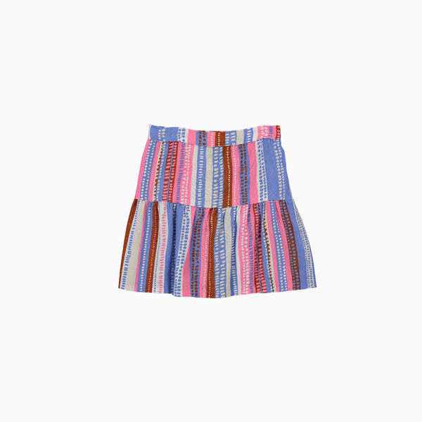 Mini Peasant Skirt - Taffy