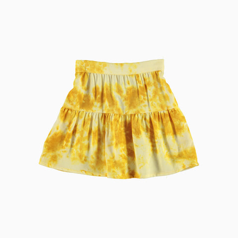Mini Peasant Skirt - Lemon