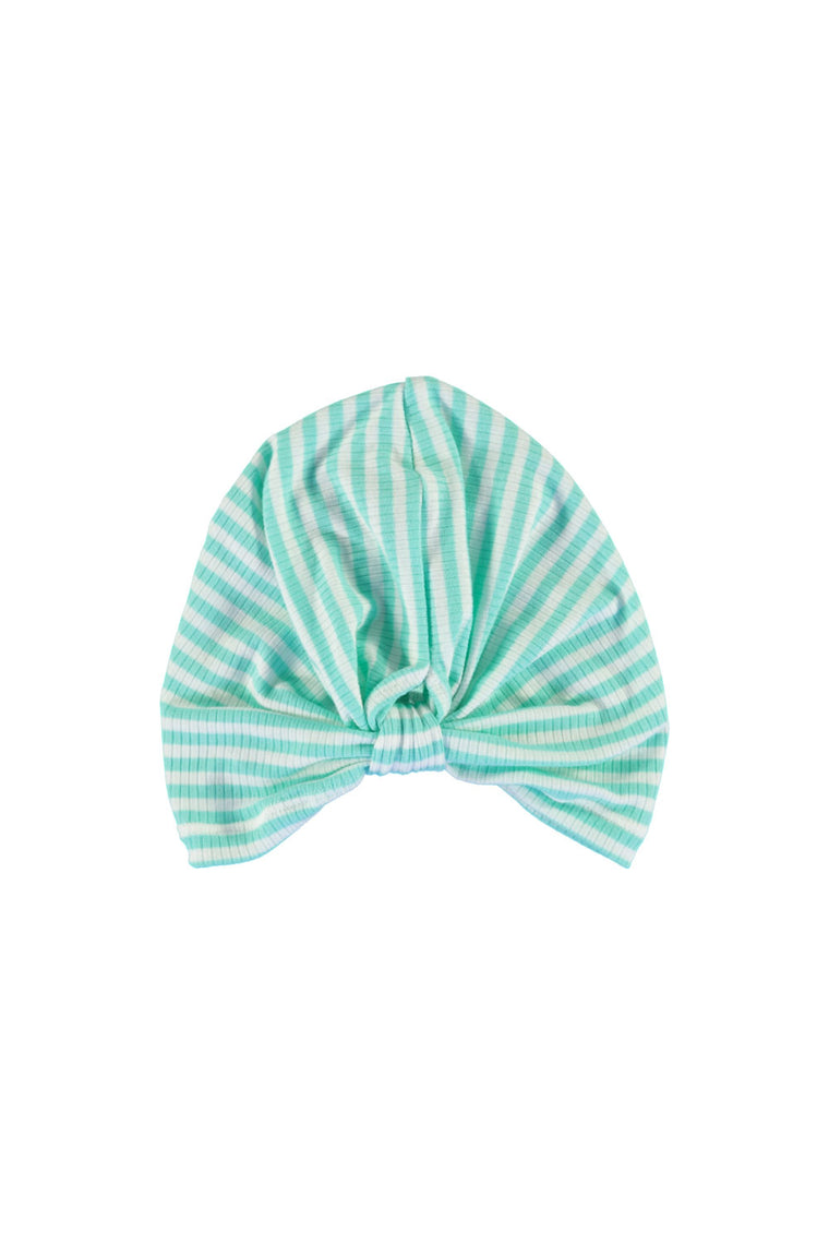 Turban - Mint Stripe