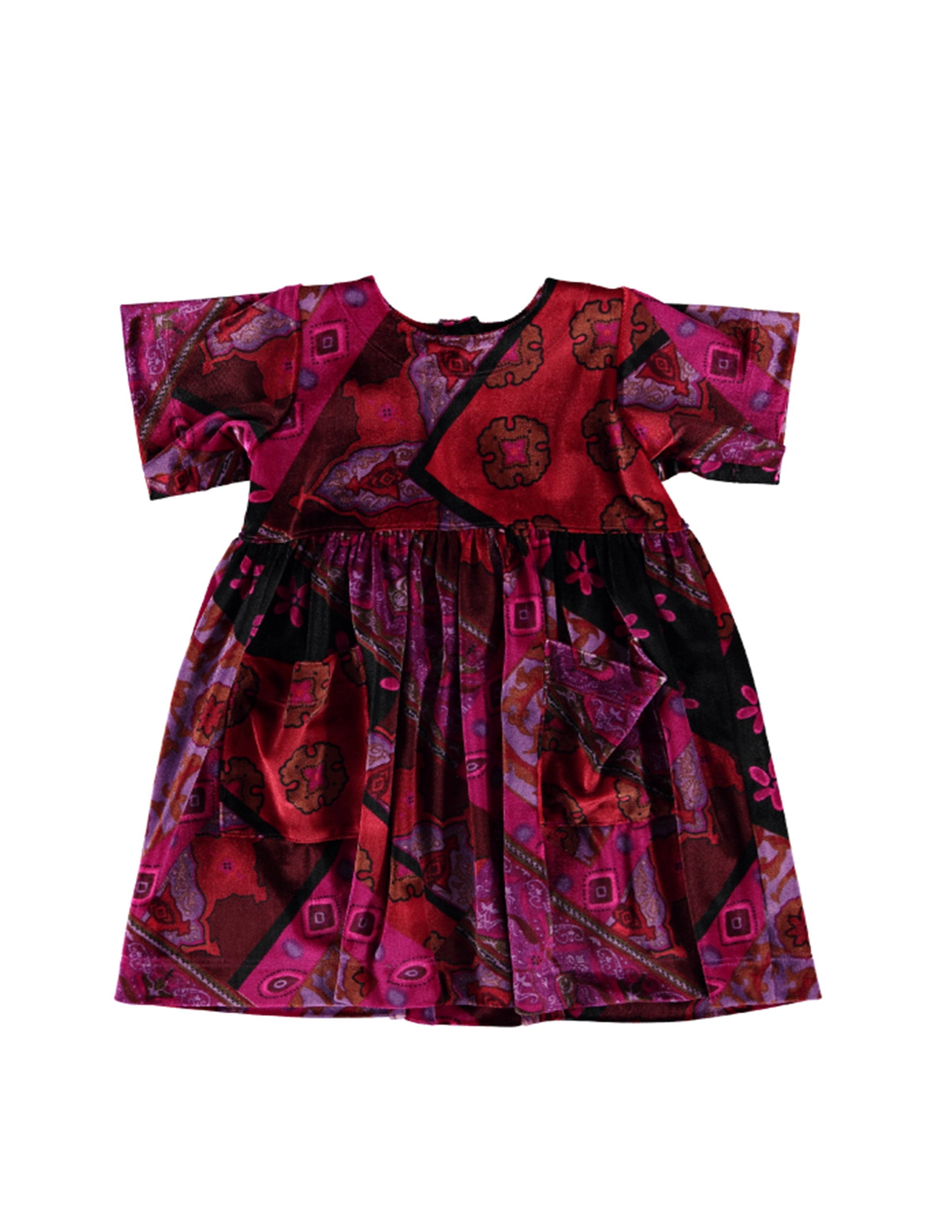 Shmock Dress - Velvet Patch