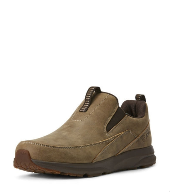Ariat Brown Bomber Spitfire Slip on