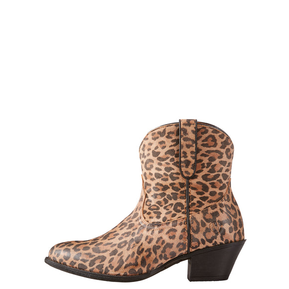 Ariat Ladies Leopard Print Darlin Booties