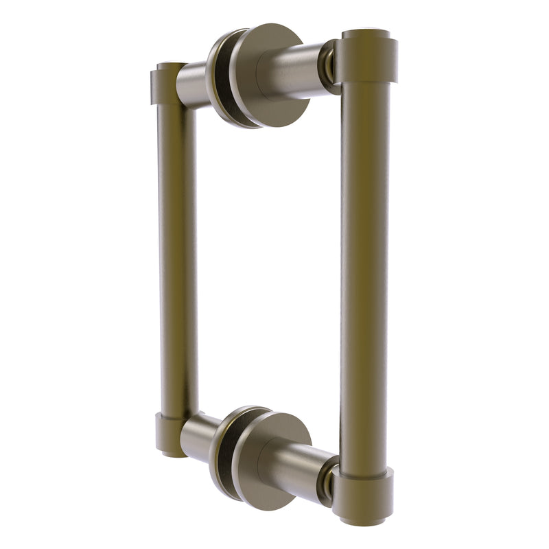 Contemporary Back to Back Shower Door Pull