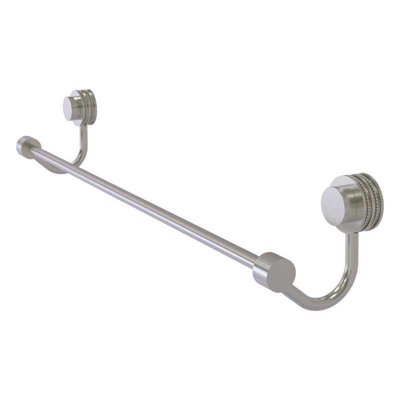 Venus Collection Towel Bar with Dotted Accents