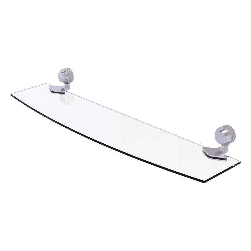 Venus Collection Glass Shelf with Dotted Accents