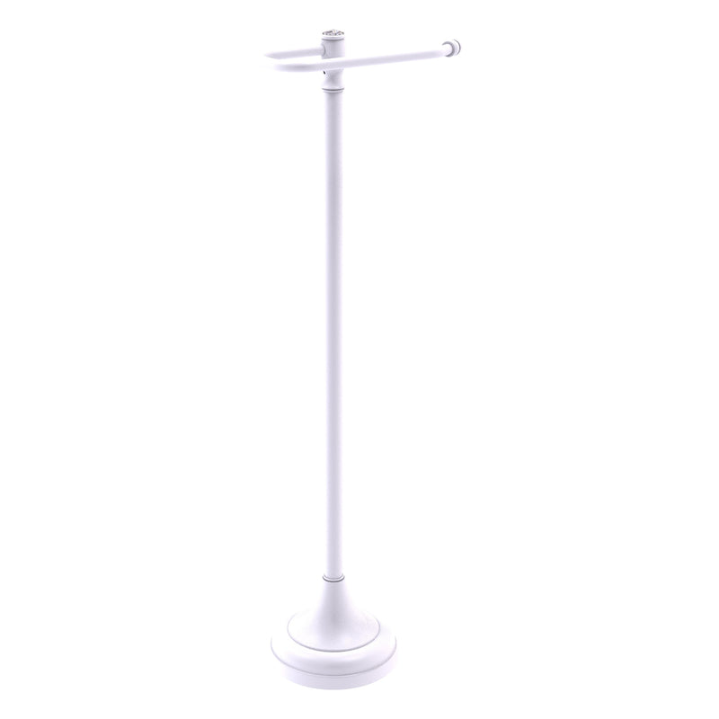 Carolina Crystal Collection Free Standing Euro Style Toilet Paper Holder