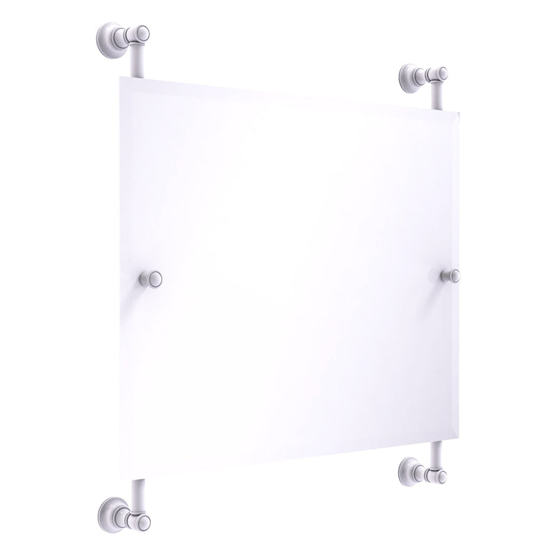Carolina Landscape Rectangular Frameless Rail Mounted Mirror