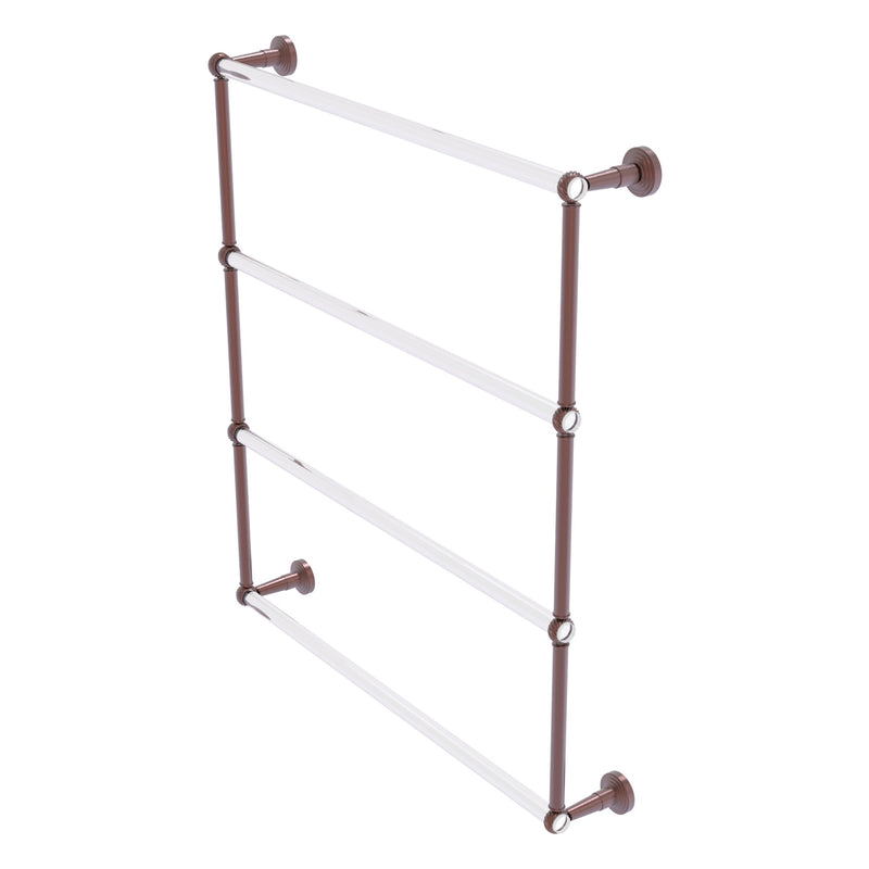 Pacific Beach Collection 4 Tier Ladder Towel Bar with Twisted Accents
