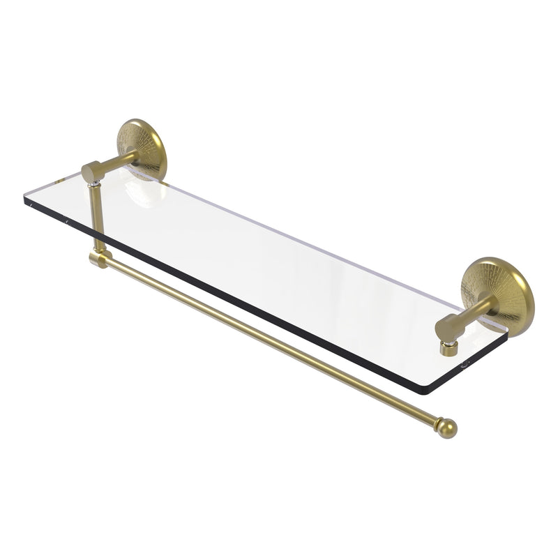 Prestige Monte Carlo Collection Paper Towel Holder with Glass Shelf