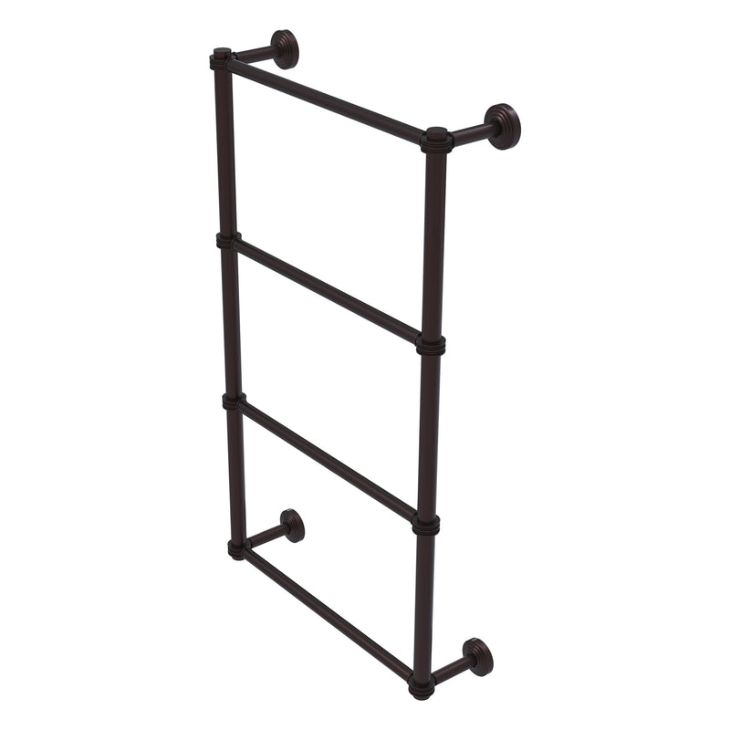 Waverly Place Collection 4 Tier Ladder Towel Bar with Dotted Accents