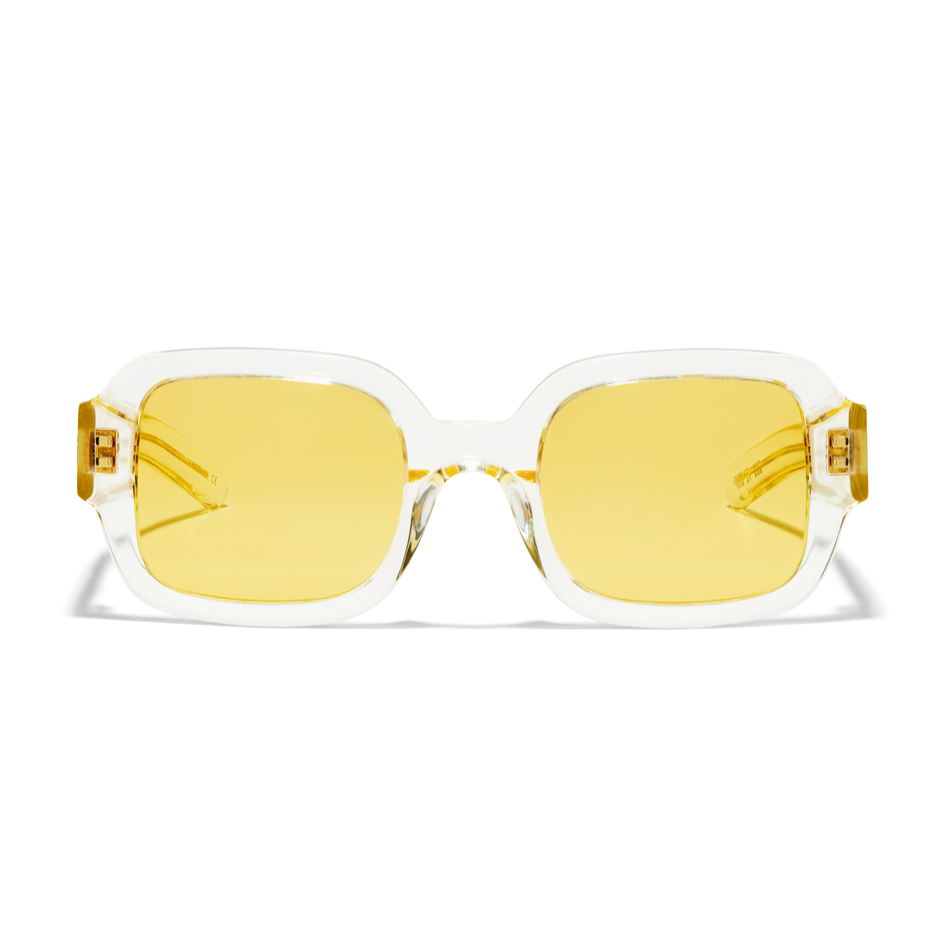 Tishkoff - Crystal Yellow / Solid Yellow Lens
