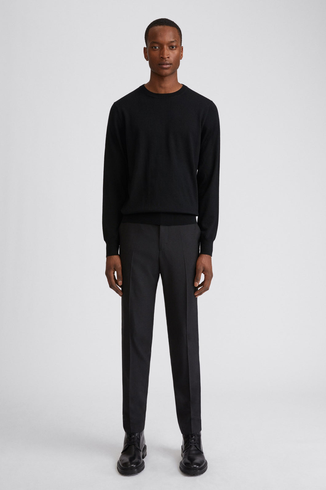 Filippa K - Merino Sweater Black