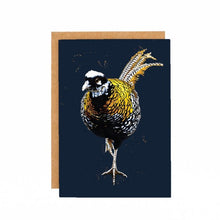 Afbeelding in Gallery-weergave laden, Some Ink Nice - Greeting card Pheasant