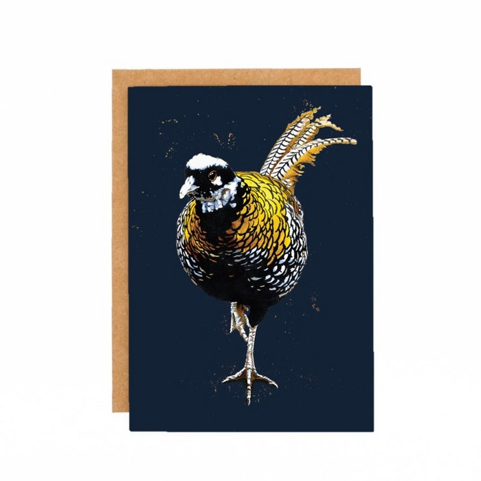 Some Ink Nice - Greeting card Pheasant