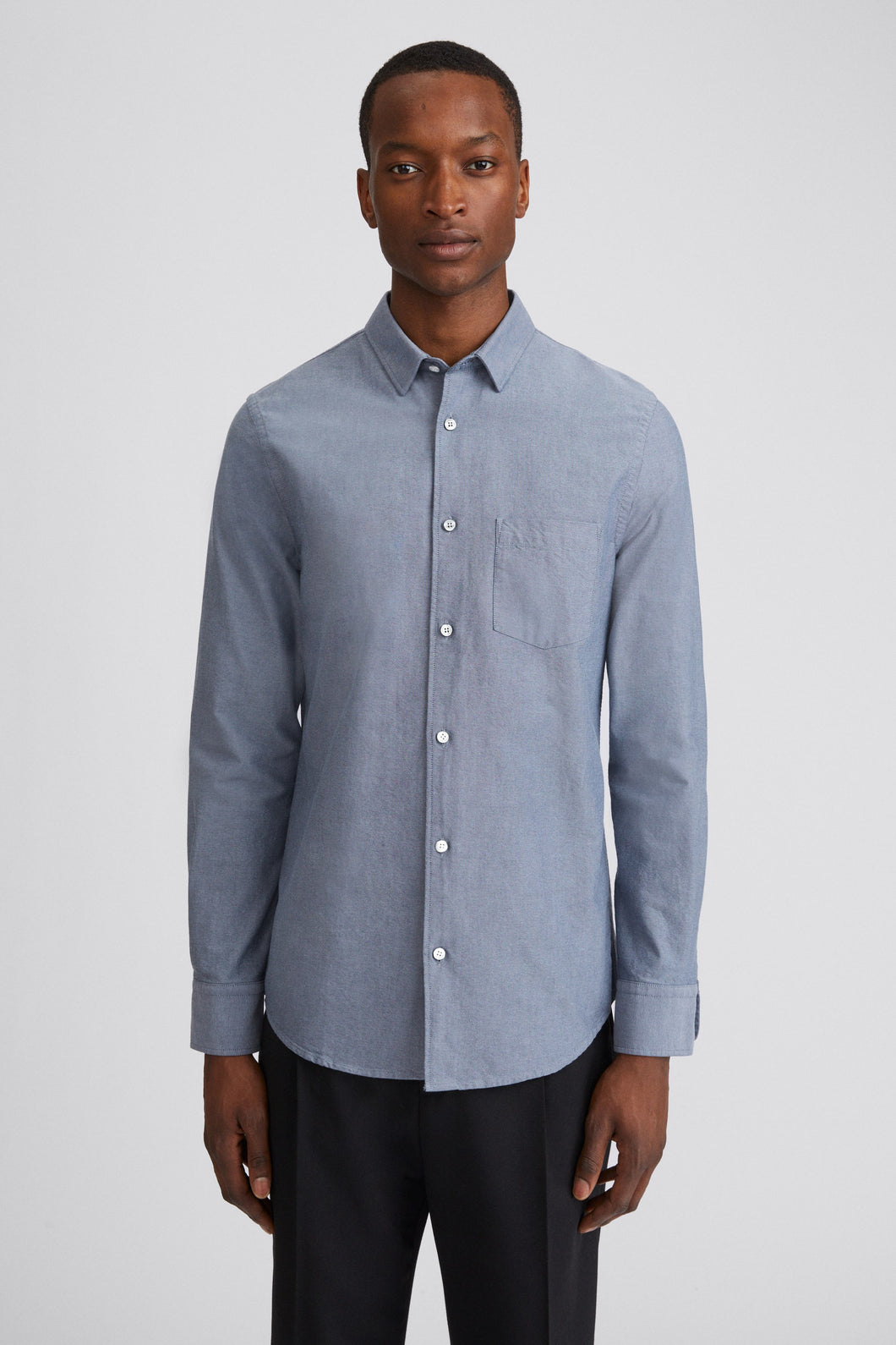 Filippa K - Tim Oxford Steel Blue