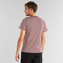 Afbeelding in Gallery-weergave laden, Dedicated - T-shirt Stripes Burgundy