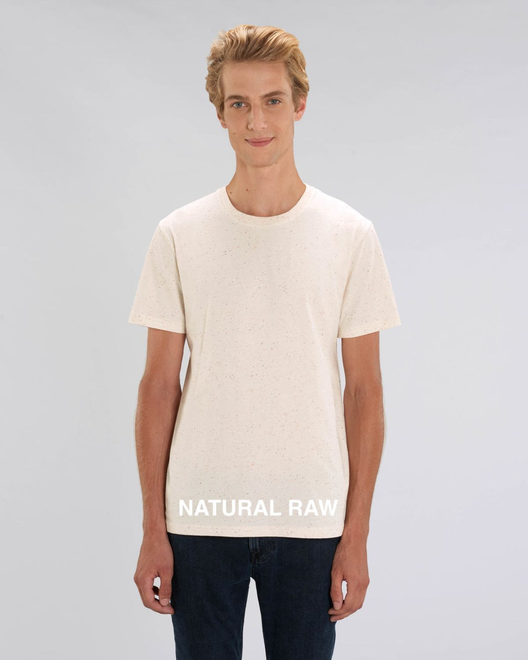 Angel Agudo - T-shirt Natural Raw
