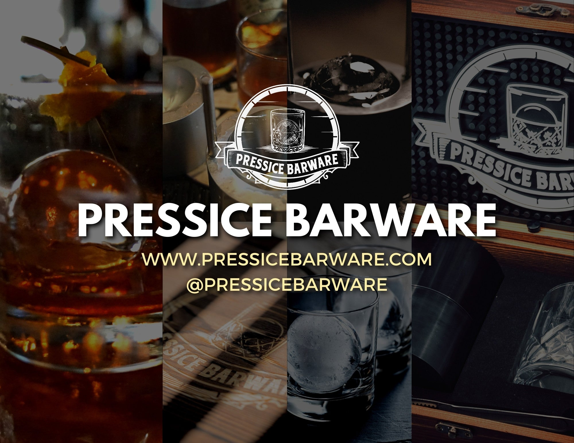 Contact Pressice Ice Ball Press Manufacturer and Distributor of quality ice presses made inthe USA social media handles