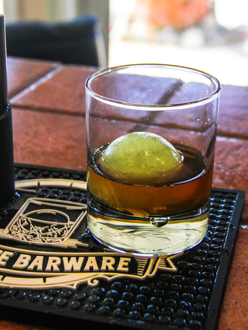 Pickle Ball in Whiskey Pressice Barware Metal Ice Ball Press Ice Ball Maker for at home Bar use