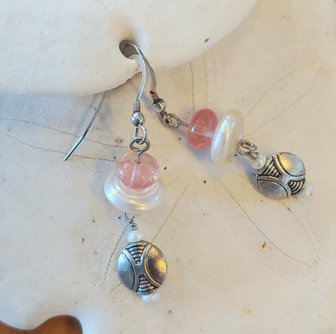 Dancing Rose Earrings