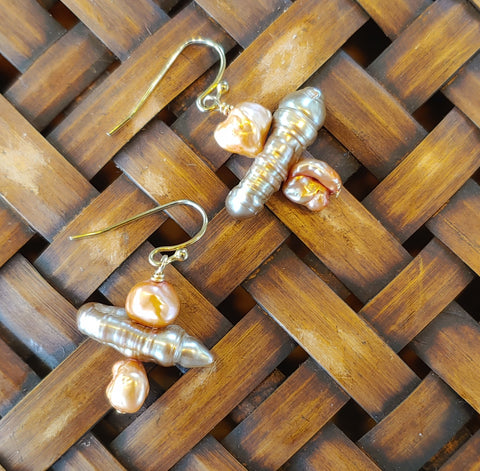 Chunky Pearl Earrings