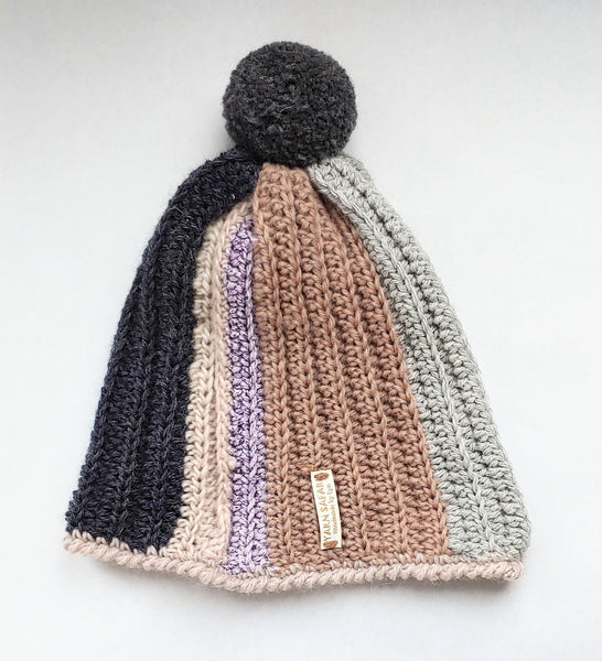 Neutral Stripes Hat