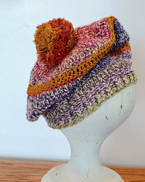 Multi-Colored Beret