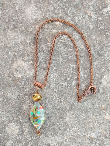 African Forest Necklace