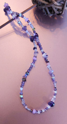 Amethyst Medly Necklace
