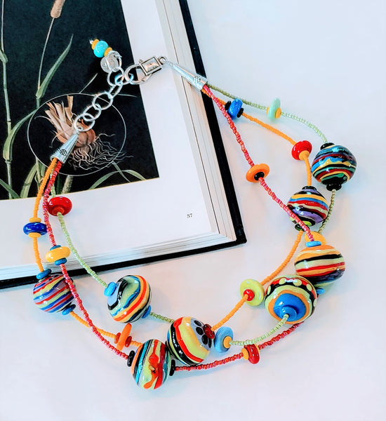 Cheerful Bubbles Necklace