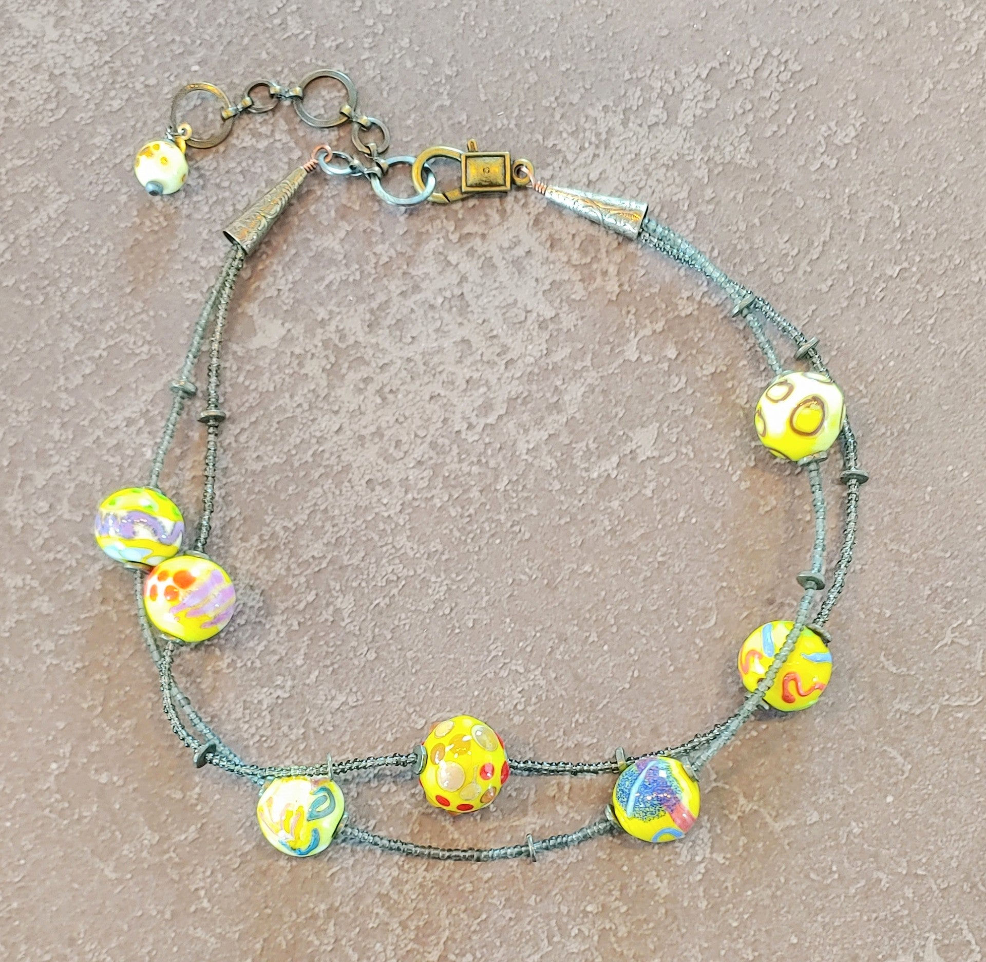 Bubbles of the Year Necklace