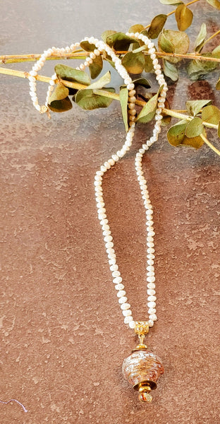 Pearls & Gold Necklace