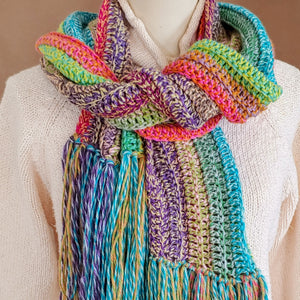 Long Stripes Scarf