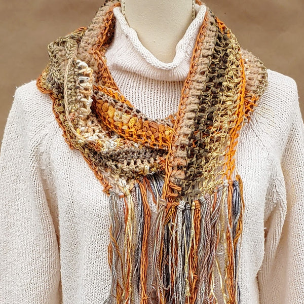 Pumpkin Time Scarf