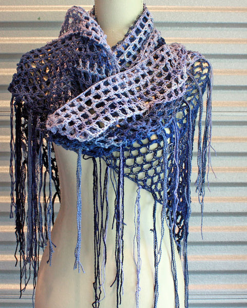 Denim Shawl