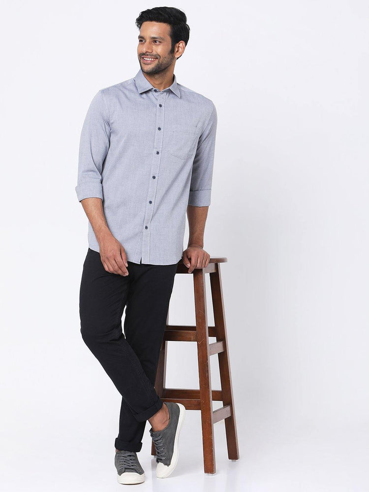 Black Oxford Chambray