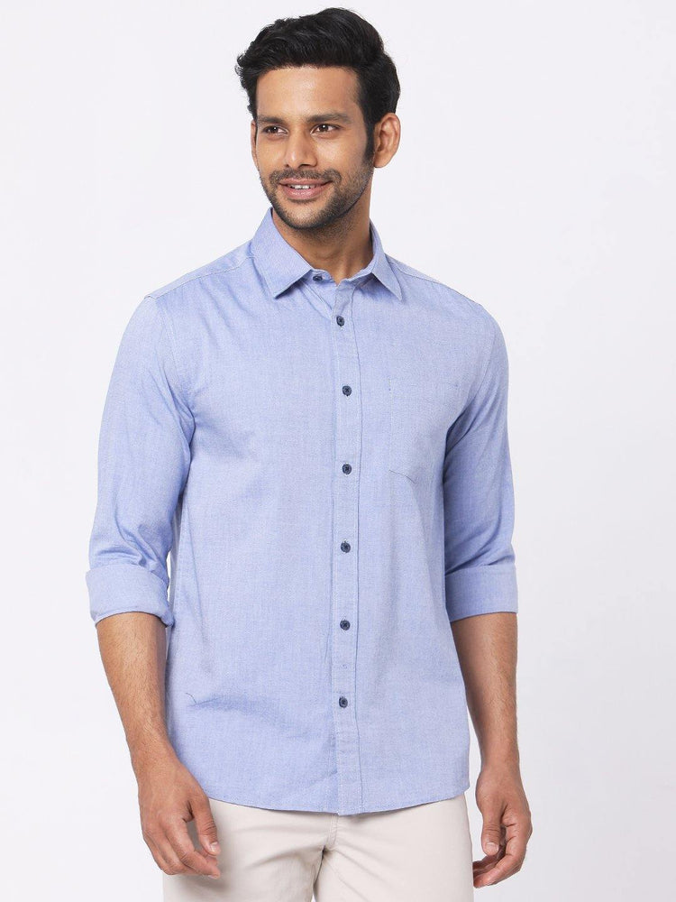 Blue Oxford Chambray