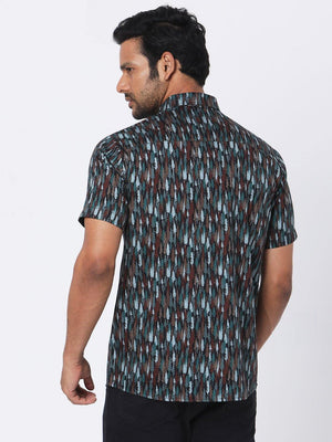 Load image into Gallery viewer, Men's Pine Tree Print Shirt