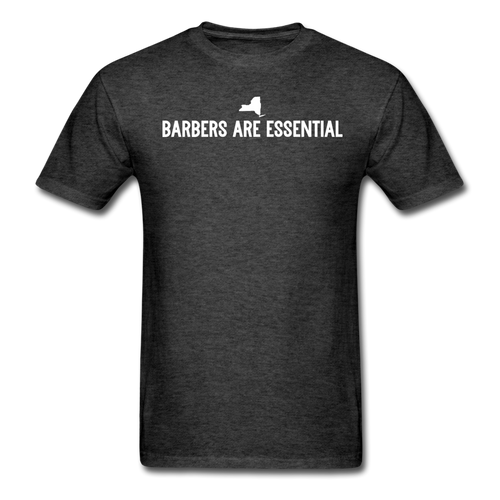 Barbers Are Essential - heather black