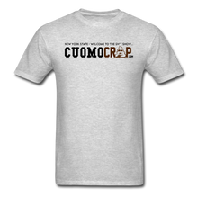 Load image into Gallery viewer, Cuomo Crap Signature Tee - heather gray