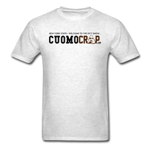 Load image into Gallery viewer, Cuomo Crap Signature Tee - light heather gray