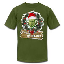 Load image into Gallery viewer, Grinch Premium Tee by Bella + Canvas - olive