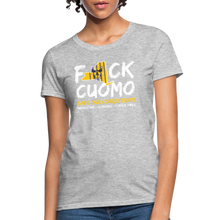 Load image into Gallery viewer, Save Our Corrections Tee - Womens - heather gray