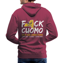Load image into Gallery viewer, Save Our Corrections Hoodie - Mens - burgundy